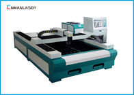 ประเทศจีน Fiber Laser Metal Cutting Machine 1500*3000 mm Water Cooling 500w  1000w บริษัท