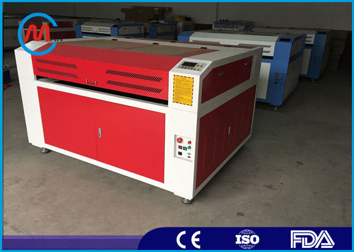 Automatic Desktop Mini Laser Cutting Machine , Co2 Sheet Metal Laser Cutting Machine