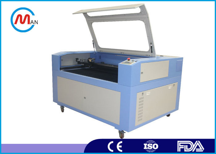 Computerized Wood Laser Cutting Machine For Leather / Rubber 20 - 80 KHz