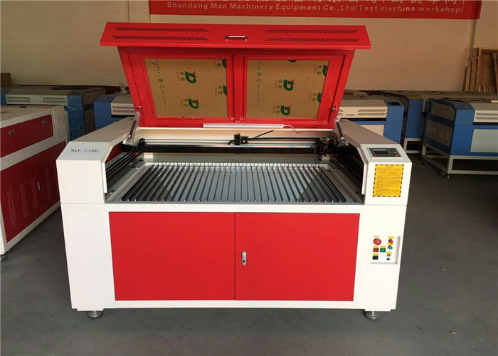 Plywood / MDF Board Wood Laser Etching Machine For Nonmetal Art Crafts