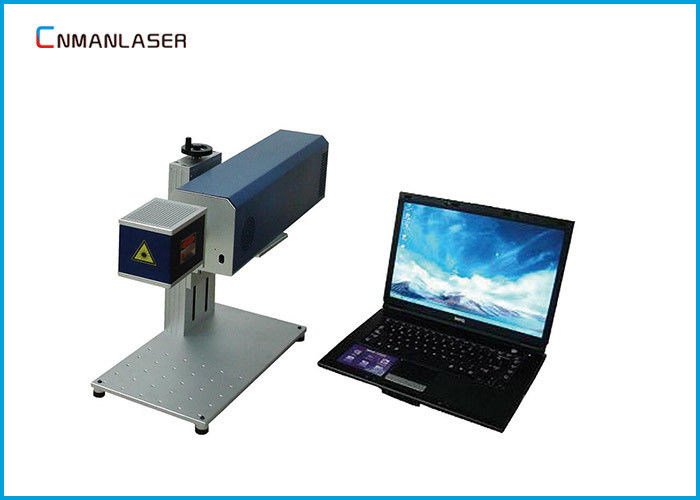 Leather Textile 20w Portable Co2 Laser Marker Machine With Galvo Scanning Head