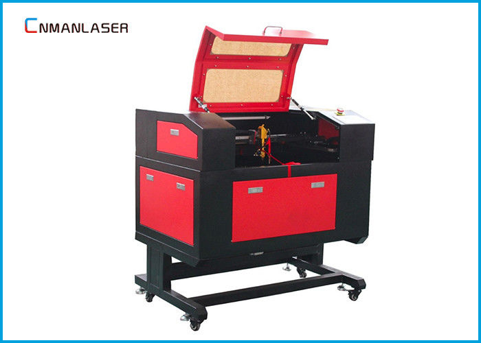 Small 220v / 110v  60w 6040 Co2 Laser Cutting Machine For Crystal Characters
