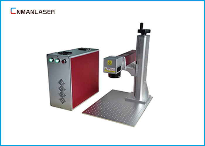 Metal Plate Surface Laser Part Marking Machines 175*175 Mm Epoxy Resin 2D Worktable